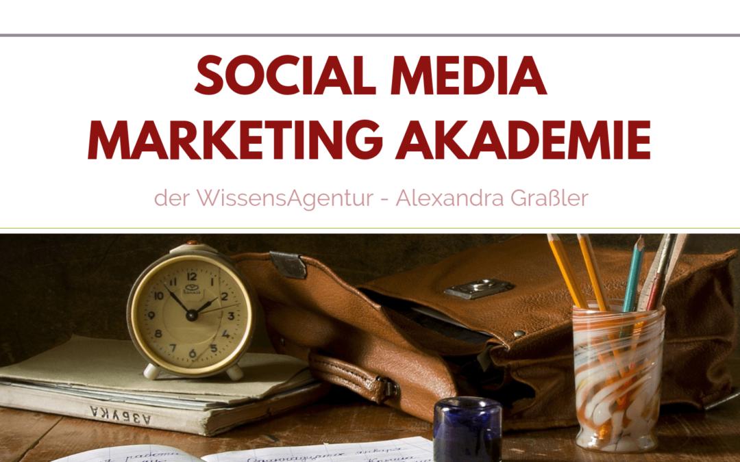 Wie du deinen Online-Auftritt so einsetzen kannst, dass dich deine Kunden lieben werden – Social Media Marketing Akademie 2019 is coming!