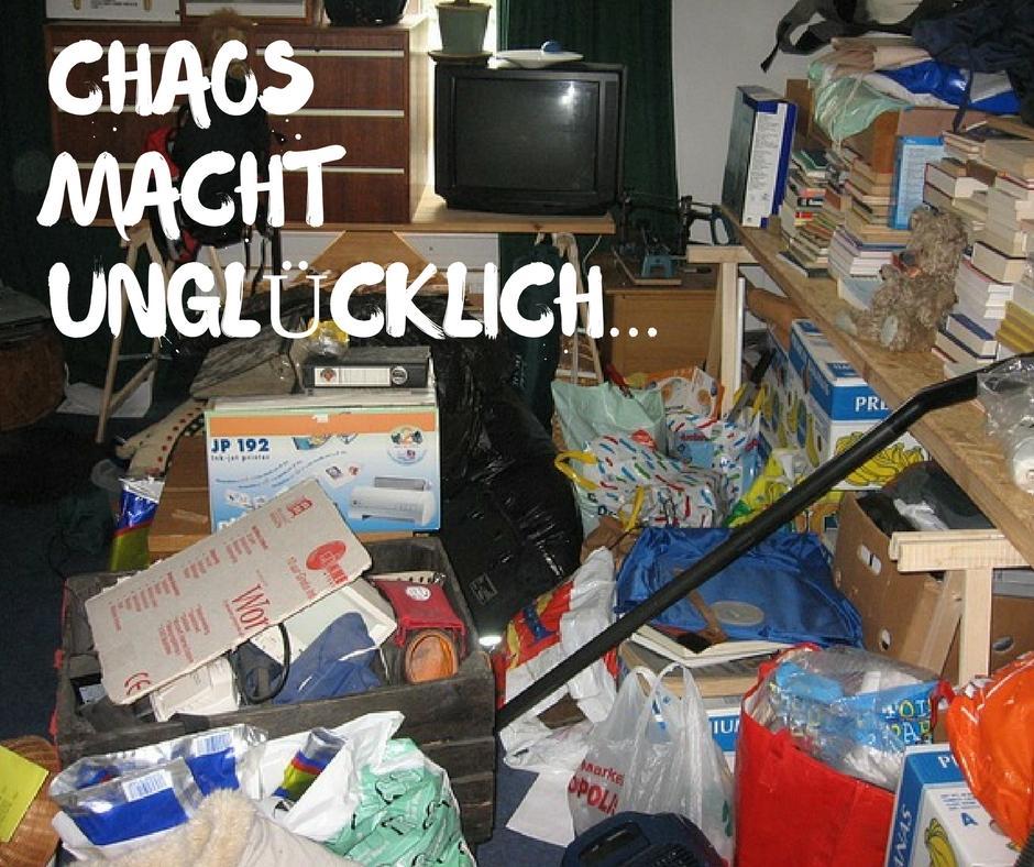 Chaos macht unglücklich