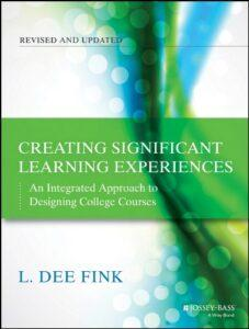 Creating Significant Learning Experiences L Dee Fink