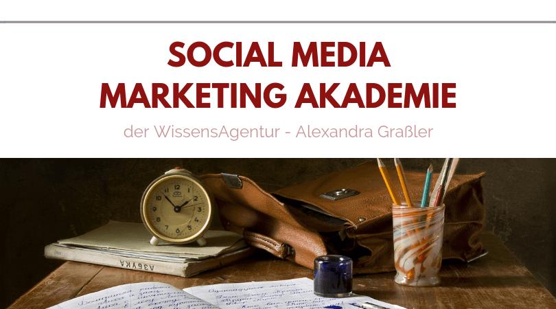 Social Media Marketing Akademie 2019