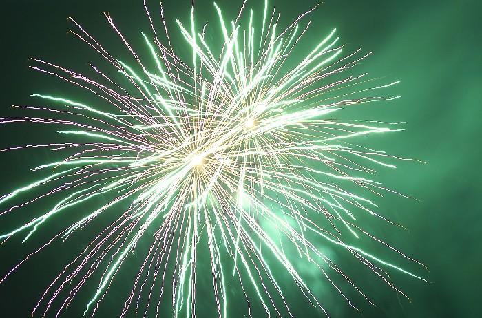 Feuerwerk Jahr 2008