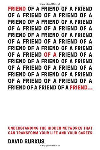 Friend of a friend - David Burkus