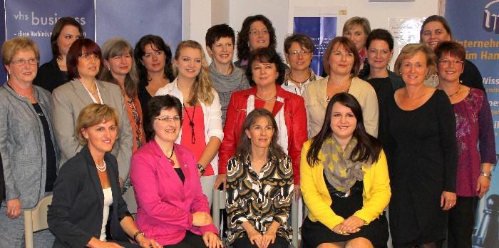 Abschlussfeier Social Media Marketing für Frauen Landshut