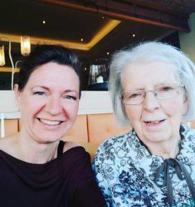 meine liebe Mama und ich ;)