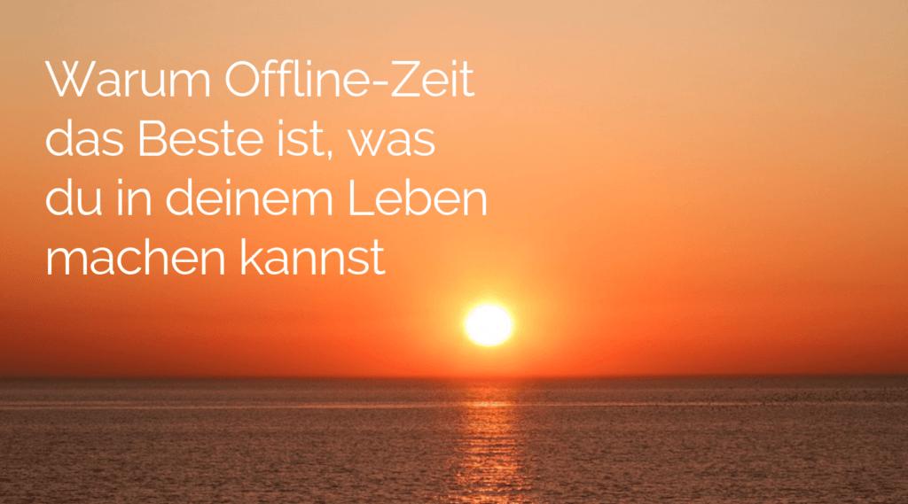 Offline-Zeit