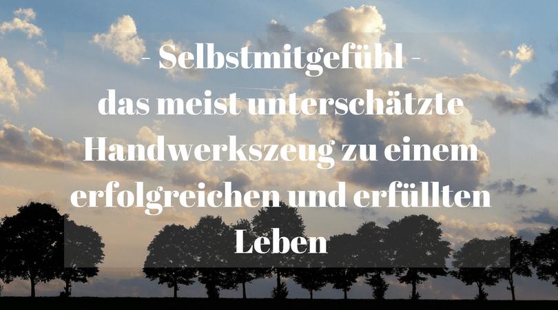 Selbstmitgefühl – das meist unterschätzte Handwerkszeug zu einem erfolgreichen und erfüllten Leben